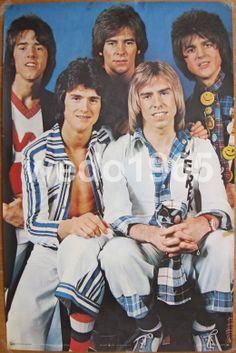 Bay City Rollers, I loved this bubblegum pop music when I was a teenager..... I also have always had an affintity for anything Scottish or Irish!