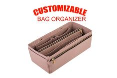 a88556c3c256 Bag insert organizer in mocca color