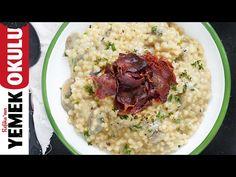 Efsane Hamburgerin  Efsane Ekmeği   Burak'ın Ekmek Teknesi - YouTube Risotto, Grains, Rice, Ethnic Recipes, Maya, Food, Youtube, Eten, Seeds