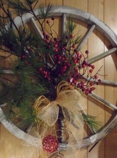 wagon wheel wall hanging