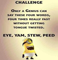 Some Really funny memes from your favorite minions, hope you enjoy it. Some Really funny memes from your favorite minions, hope you enjoy it. Some Really funny memes from your favorite minions, hope you enjoy it. Funny Minion Pictures, Funny Minion Memes, Minions Quotes, Funny Pics, Minion Humor, Despicable Me Memes, Funny Disney Pictures, Minion Stuff, Videos Funny