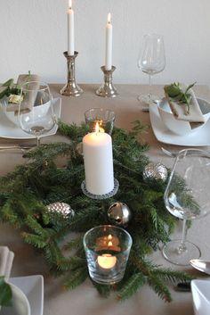 Tischdekoration Herbst, Advent, Weihnachten