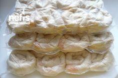✿ ❤ Dondurucu İçin Patatesli Gül Böreği Yapımı