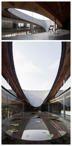 Big Building, Building Facade, Building Structure, Chengdu, Cultural, Close To Home, Courtyards, Cafe Design, Beach Hotels