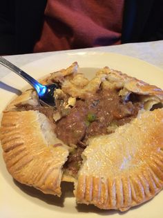 Beef Stout Pot Pie, Bird Cafe, downtown #fortworth
