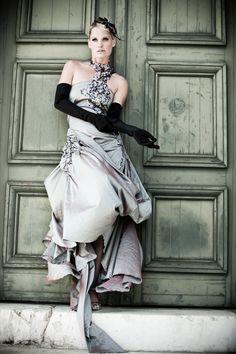 Lookbook - Irene Luft Fashion by Amir Kaljikovic, via Behance