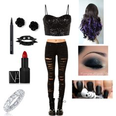 """""""Jane The Rebel"""" by catdaddygal on Polyvore AKA Jane The Killer (I made this)"""