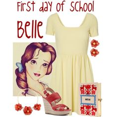 """High School Belle"" by alyssa-eatinger on Polyvore"