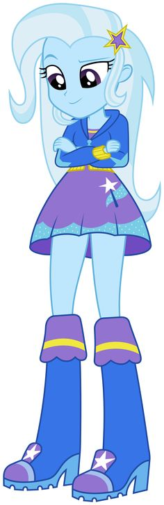 MLP EQG - The Great and Powerful TRRRRIXIE! by FloppyChiptunes.deviantart.com on @deviantART