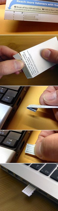 IntelliPaper : The First Paper USB Drive