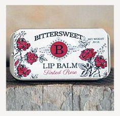 Bittersweet Soap Company Tinted Lip Balm with Alkanet Root