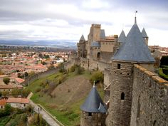 "https://flic.kr/p/bu1M9u | Carcassonne, France | Carcassonne was founded by the Visigoths in the 5th century. Its fortress has been listed on the UNESCO list of World Heritage Sites.  If you like this picture, visit our blog: <a href=""http://hitchhikershandbook.wordpress.com/"" rel=""nofollow"">hitchhikershandbook.wordpress.com/</a>"