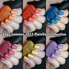 Nails by Kayla Shevonne: Review & Swatches - Zoya Summer 2013 PixieDust Collection