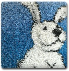 Hook Punch, Rya Rug, Coton De Tulear, Rugs On Carpet, Carpets, Carpet Design, Rug Hooking, Weaving, Knitting