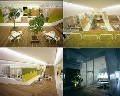 An eco-friendly office design idea