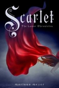 Scarlet by Marissa Meyer--Scarlet and Cinder's stories collide in the book two of the Lunar chronicles.  MS/HS
