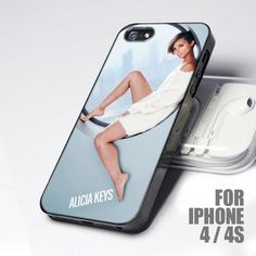 Beautiful Alicia Keys design for iPhone 4 or 4s case
