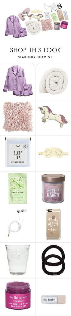 """Sleepless night"" by monijerez ❤ liked on Polyvore featuring H&M, Pier 1 Imports, Silken Favours, Stride Rite, Morgan Lane, Casetify, Bormioli Rocco, John Lewis and Sara Happ"