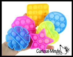 Bubble Popper, Generalized Anxiety Disorder, Stress Toys, Busy Bags, Fidget Toys, Bubble Wrap, Occupational Therapy, Geometric Shapes, Balls