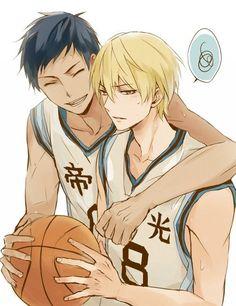 Aomine and Kise