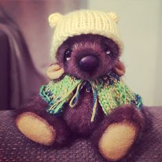 A personal favourite from my Etsy shop https://www.etsy.com/uk/listing/266350724/travis-artist-bear-by-maria-blee