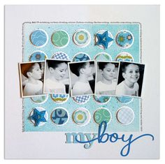 Great layout-love the quick succession in the boy's laugh.  good idea
