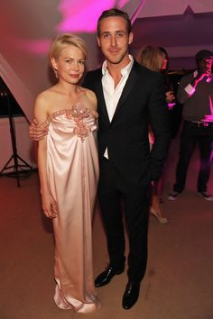 Actors Michelle Williams and Ryan Gosling attend the Blue Valentine After Party at Palais Stephanie during the 63rd Annual Cannes Film Festival on May 18, 2010 in Cannes, France.