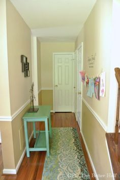 Painted Hallway Table Makeover