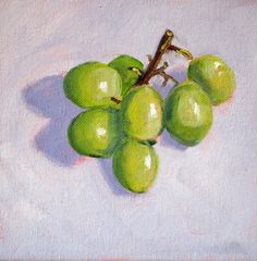 Fruit Still Life Painting Small Original on by smallimpressions, $50.00