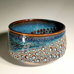 It's mug and cup week here in the studio. Pictured is a bowl from the last batch.