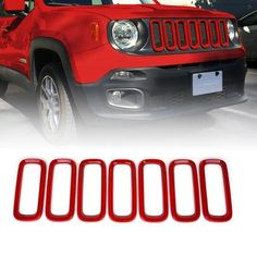 Silver ABS Taillight lamp Cover Trim Frame fit for 2018 Jeep Wrangler JL