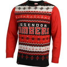 a6252344c2c3 Get into the festive season this year with an Essendon Bombers Men s Team Ugly  Sweater!