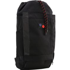Pinqponq Blok Backpack | Minimal Black
