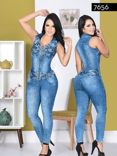 Yes Brazil Jeans – awesome jeans colombia Junior Outfits, New Outfits, Cute Outfits, Fashion Outfits, Womens Fashion, Chinese Gown, Jeans Jumpsuit, Overalls, Indian Fashion Trends