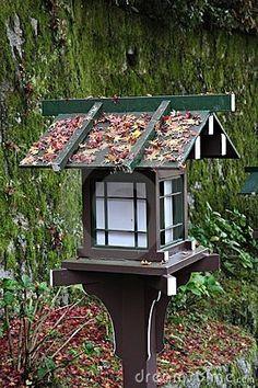 Japanese Lantern & Garden Stock Photography - Image: 8830122