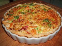 Recept voor quiche met prei, ham en champignons TODIO.NL