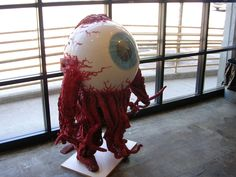 halloween eyeball costume