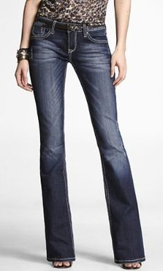 What would fall be without a great  Boot Cut Jean