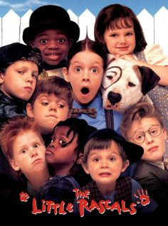 The Little Rascals(01/04/14)☆☆½....abc family was playing a lot of movies today.