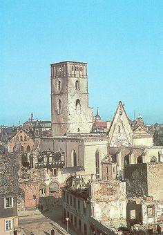 Darmstadt früher | Zerstörte Stadtkirche | Die zerstörte Sta… | Flickr