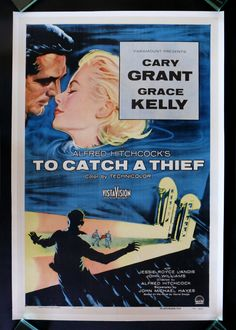 Great movie staring the charming Carry Grant and the stunning Grace Kelly. To Catch a Theif