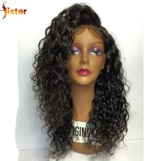 73.09$  Buy now - http://aliumc.worldwells.pw/go.php?t=32704177587 - Brazilian Hair Curly Lace Front Wig Virgin Human Hair Curly Lace Front Wig For Black Women Glueless Full Lace Frontal Wig Stock 73.09$