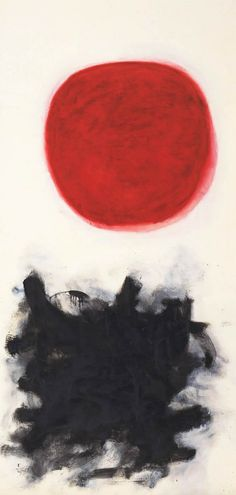 Adolph Gottlieb, Blast, I, 1957, 1957, olieverf op doek, 228 x 114 cm, Philip Johnson Fund, The Museum of Modern Art, New York