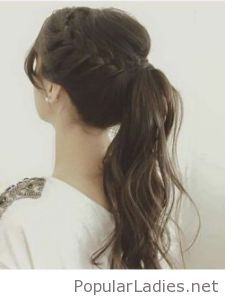 Nice braided ponytail