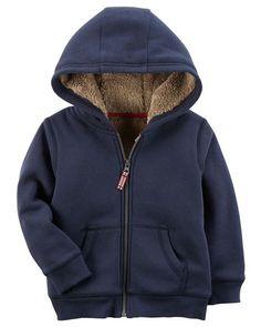 Full-Zip Hooded Fleece Jacket