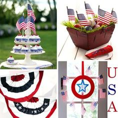fourth of july decor | Fourth of July Patriotic Decorations - All Things For All Parties