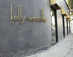 Kelly Wearstler's new clothing boutique on Melrose Avenue.