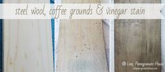 Make Wood Look Weathered | 34 Unexpected Ways Coffee Grounds Can Make Your Life Better