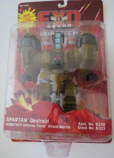 Exo-Squad-Robotech-SPARTAN-Destroid-Action-Figure-PLAYMATES-1994-Macross-MOC - 24.99