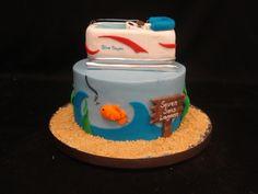Seven seas lagoon birthday cake, Party Flavors Custom Cakes, Orlando, FL